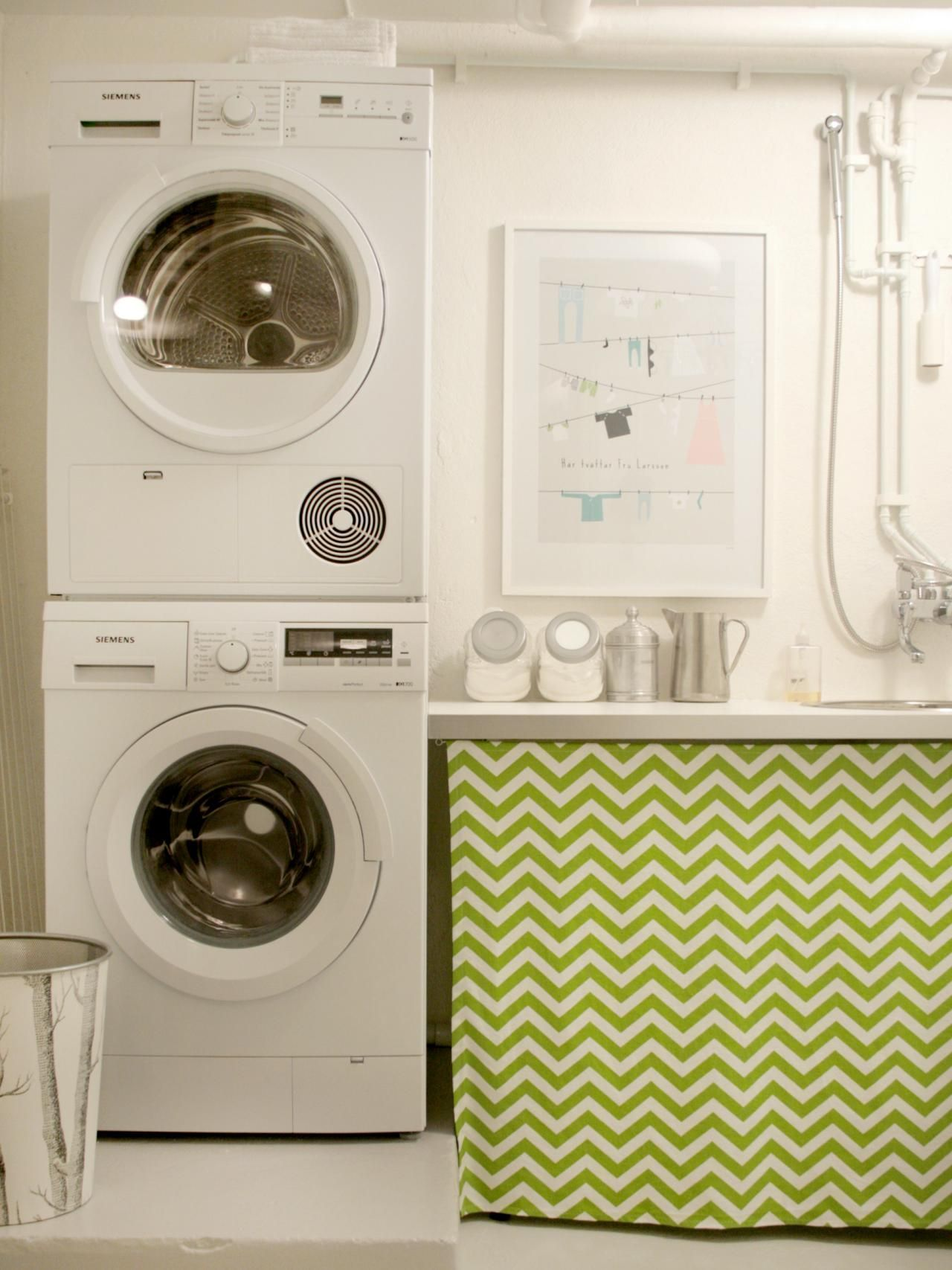 Decor And Storage Tips For Basement Laundry Rooms - Home