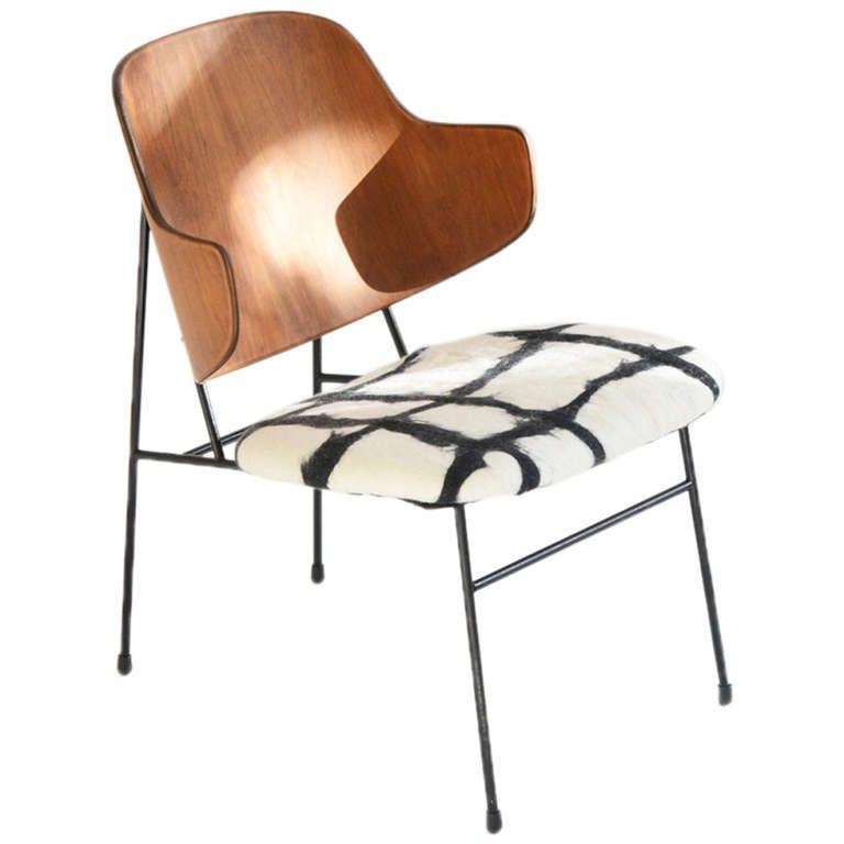 Ib Kofod Larsen Chair Edited by Christensen and Larsen | 1stdibs.com