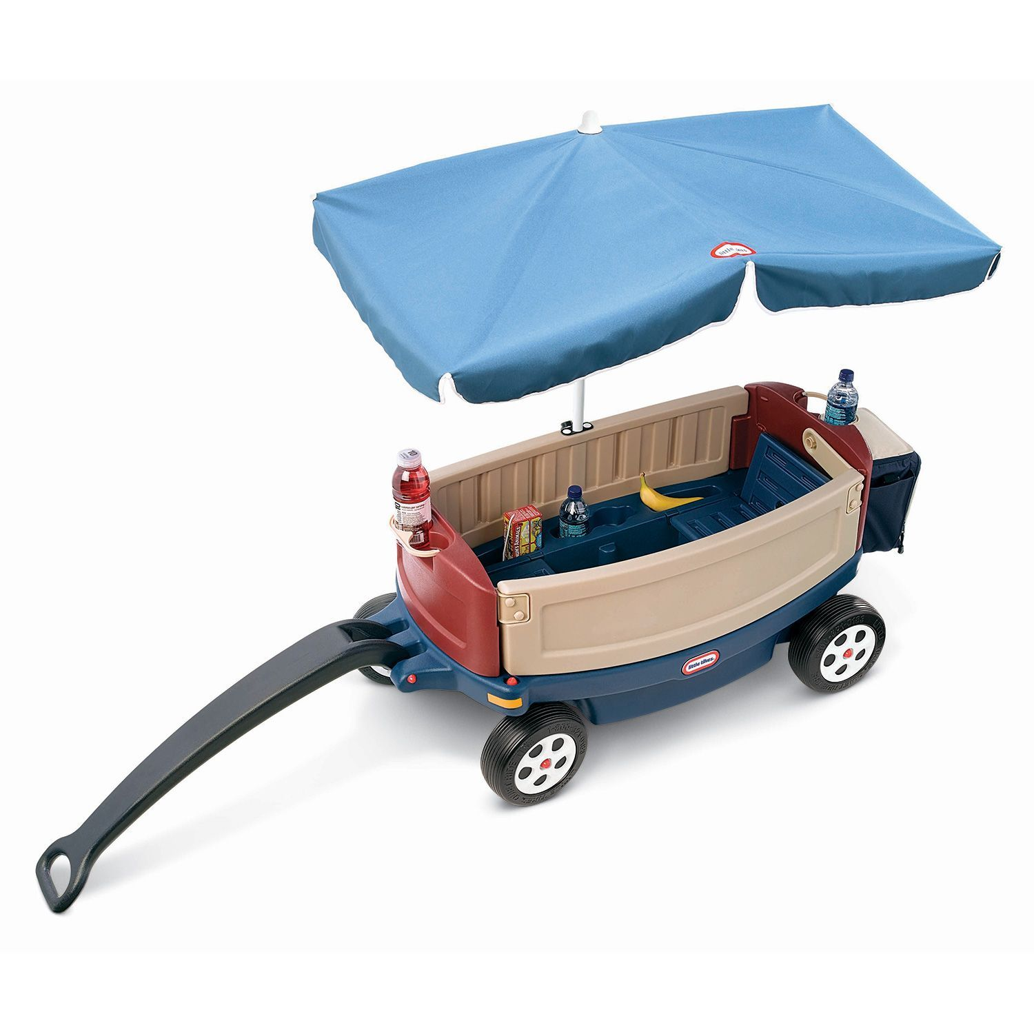 Deluxe Ride Relax Wagon With Umbrella Cooler Sam S Club