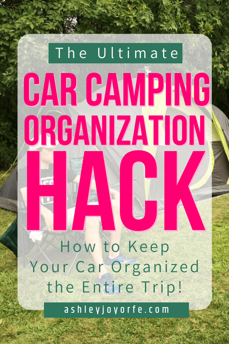 The Only Car Camping Organization Hack You Need   Ashley ...