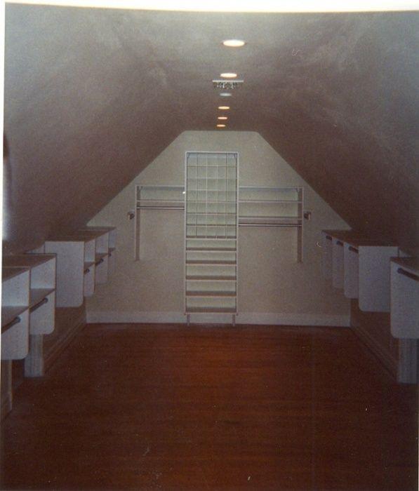 Attic Closet Design Ideas: California Closets