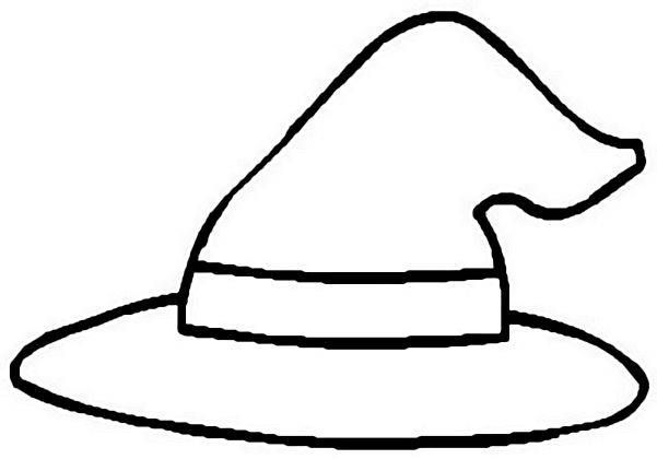 Witch Hat Witch Hat Halloween Coloring Pages Halloween Coloring