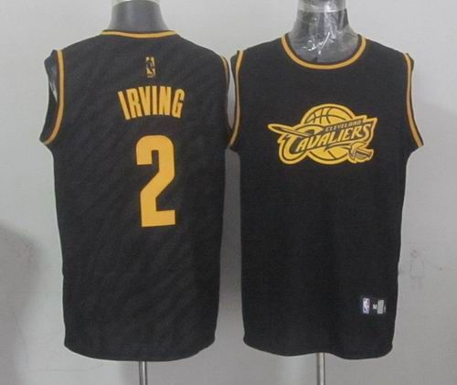 Cleveland Cavaliers #31 Shawn Marion Revolution 30 Swingman 2014 Black With Gold Jersey