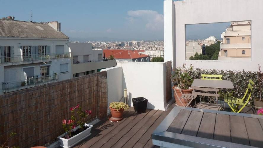 Vente appartement bord de mer duplex t3 4 avec terrasse en for Appartement terrasse 13007