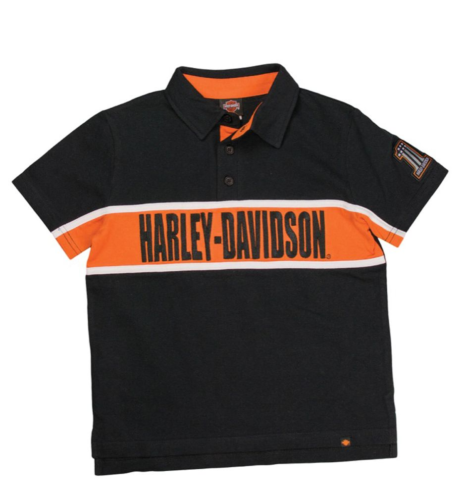 3feb686f Harley-Davidson® Toddler Boys' Polo Shirt | Harley-Davidson Kids ...