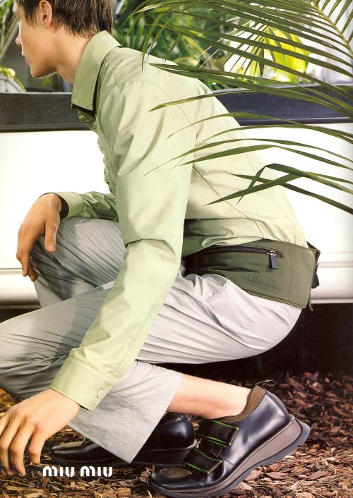 a7b3a367aca Miu Miu Menswear Fall Winter 1999 Campaign