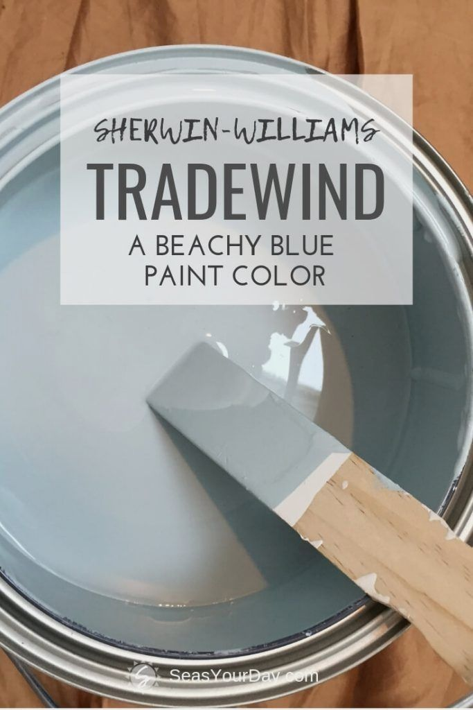 SherwinWilliams Tradewind Paint Color is part of Bedroom paint colors, Paint colors for home, Paint colors, Coastal paint colors, Room paint, Bedroom paint - SherwinWilliams Tradewind Paint Color SW6218 is among the most popular coastal paint colors preferred by interior designers  Bedroom makeovers
