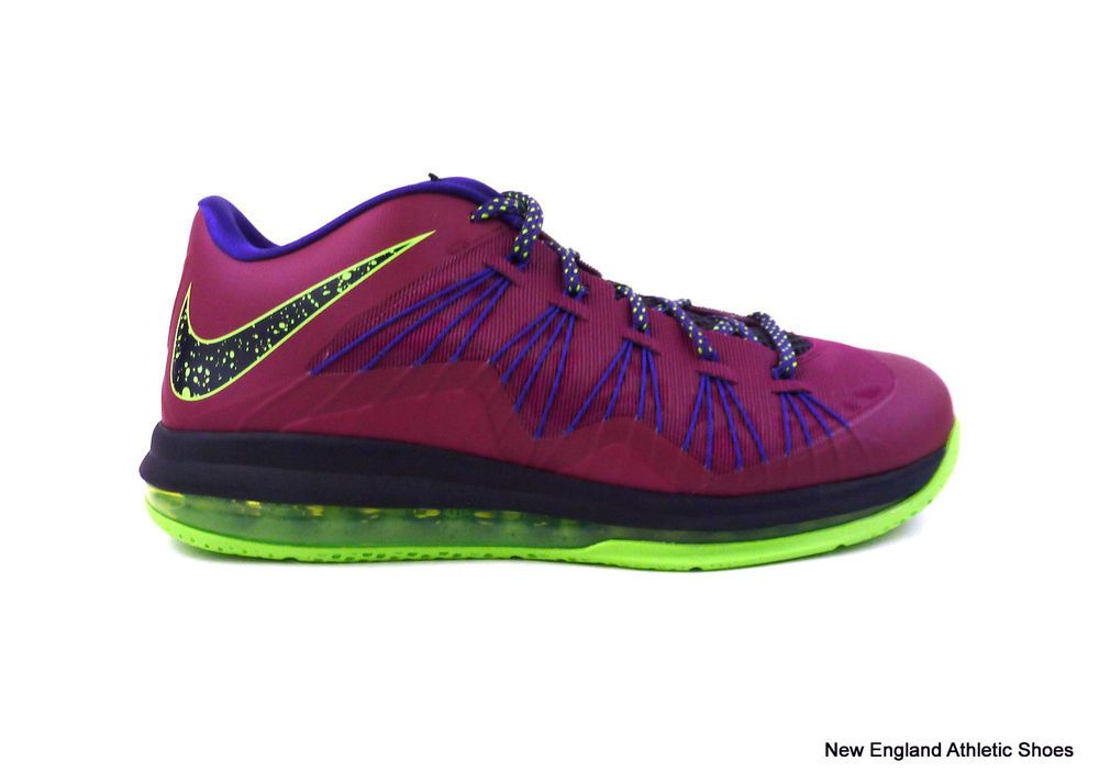 32a9188aa4b ... denmark nike mens air max lebron x low basketball shoes sneakers size  11 raspberry red 032b8 ...