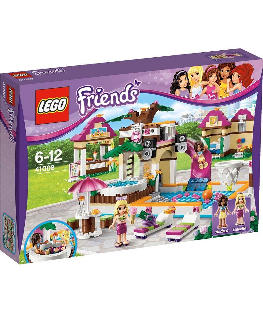 Buy Lego Friends Heartlake City Pool Playset 41008 At Argoscouk