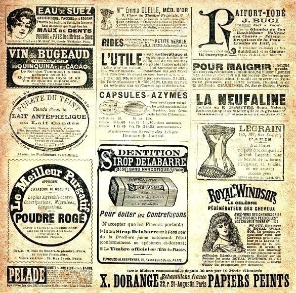 Old Newspaper Template With Advertisement Paper Intended For