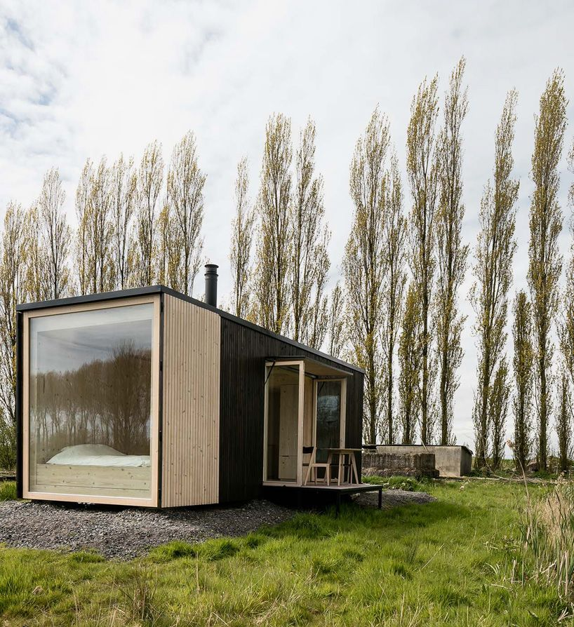 ark shelter is a sustainable mobile prefab home for any location and itu0027s cost