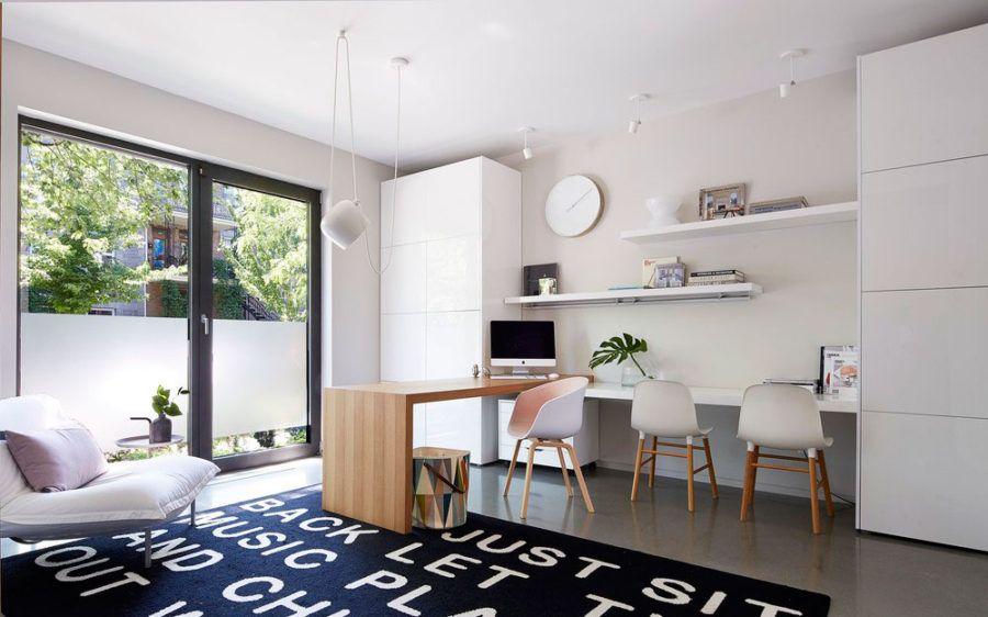 #Moderne Innenräume Ein Minimalistisches Zeitgenössisches Haus Mit Mutigen  Akzenten #home #dekoration #neu