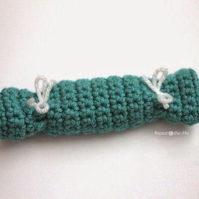 Crochet Party Popper Pouch