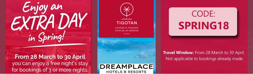 Book 3 Or More Nights At #Tigotan & Get EXTRA #NightStayFree
