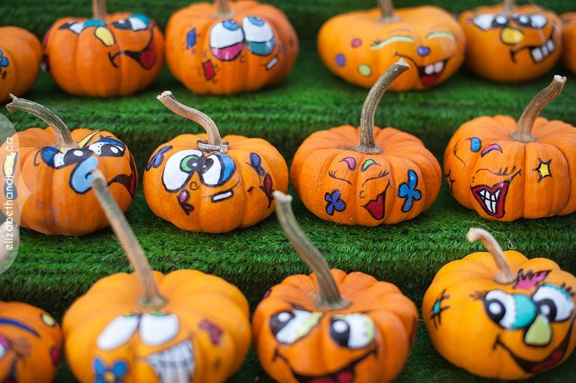 Painted Mini Pumpkins Super Cool Ideas Pinterest
