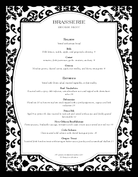 Fine Restaurant Dining Menu  Restaurant Graphics Menu Ideas