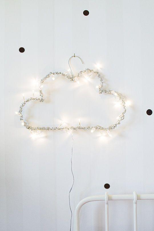 Diy Cloud Light Lampen Lichtlein Und Kinderzimmer