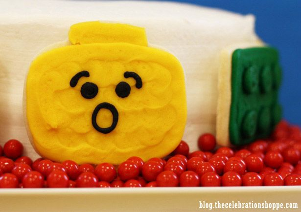Lego Cookies From Sweet Tooth Cottage Available At Thecelebrationshoppe Com Love The Faces Lego Birthday Party Lego Birthday Birthday Parties