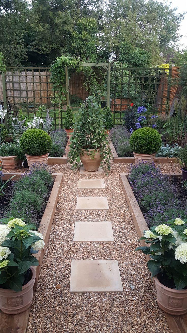 Herzlich willkommen! Einen Garten machen