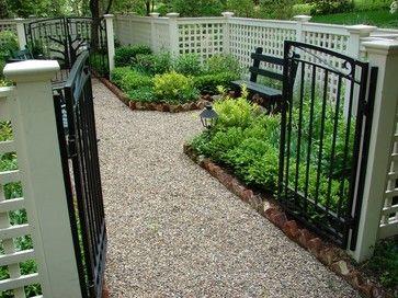 Fencing / Trellis / Enclosures - traditional - landscape - new york - Scott A. Patkochis LLC