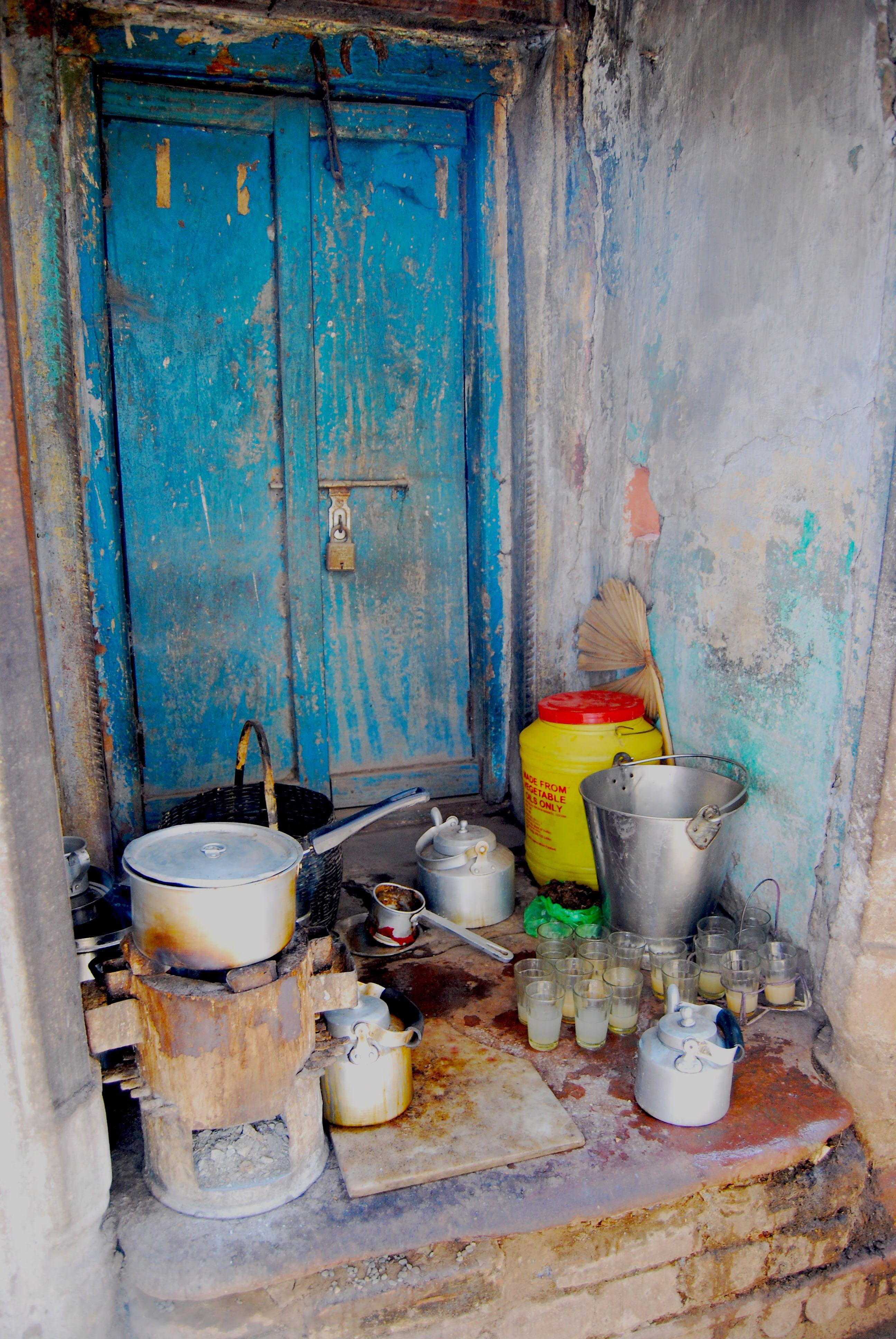 Varanasi Tea shop - Nazneen Kapasi
