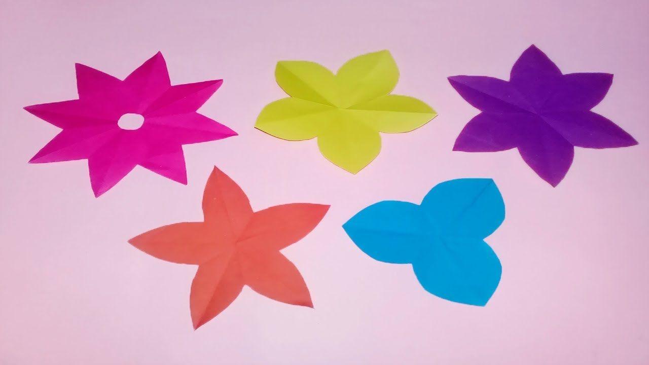 How To Cut 34568 Petals Paper Flowers Diy Paper Flower