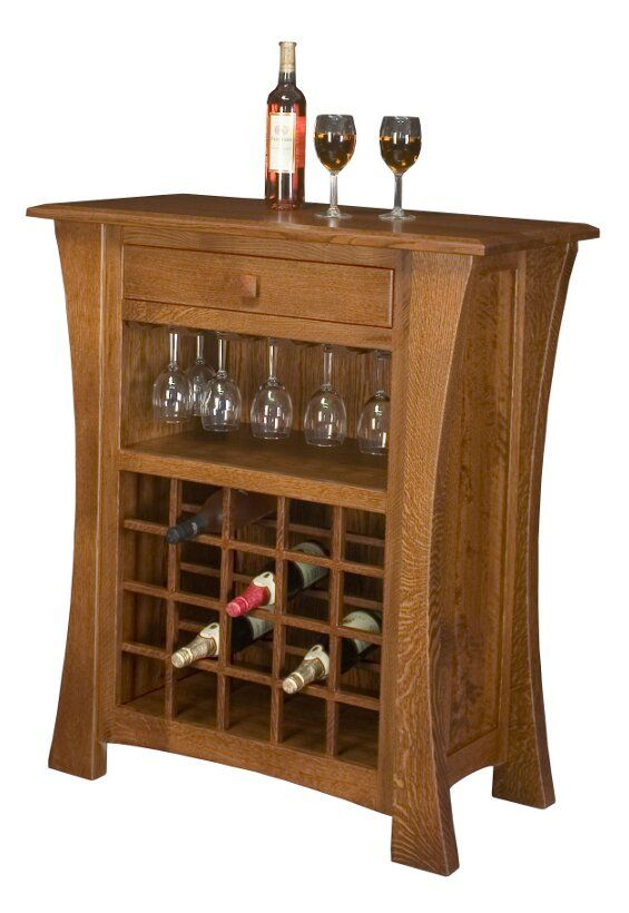 Arts And Crafts Wine Cabinet