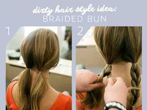 ألبوم تعليم تسريحات الشعر خطوة بخطوة Braided Bun Hair Styles Braids