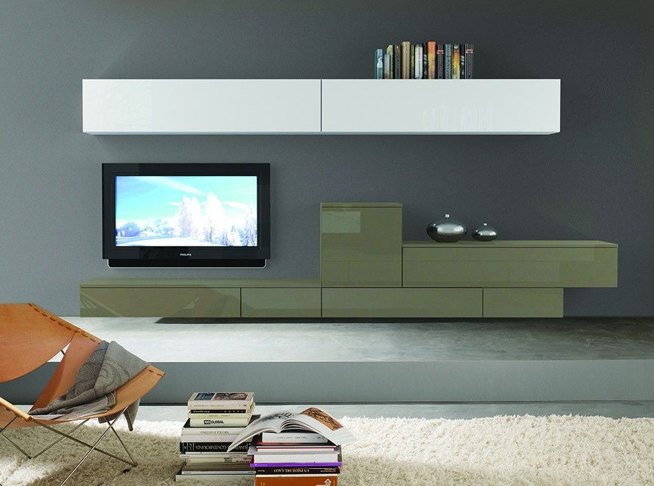 Modern Wall Unit 3D 06 by Artigian