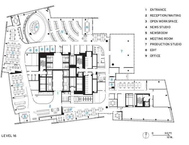 16th Floor Plan Of The Shard Drawings Pinterest