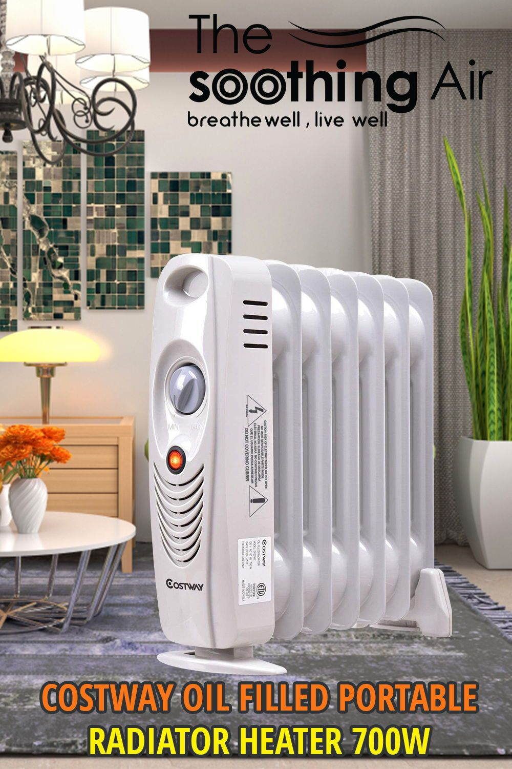 Top 10 Oil Filled Radiant Heaters Feb 2020 Reviews And Buyers Guide Heater Oil Heater Oil Filled Radiator