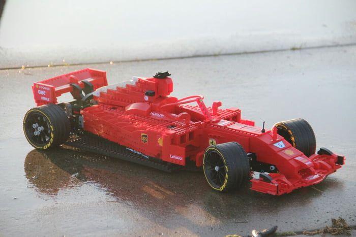 Lego Sf71h Ferrari F1 2018 Cool Lego
