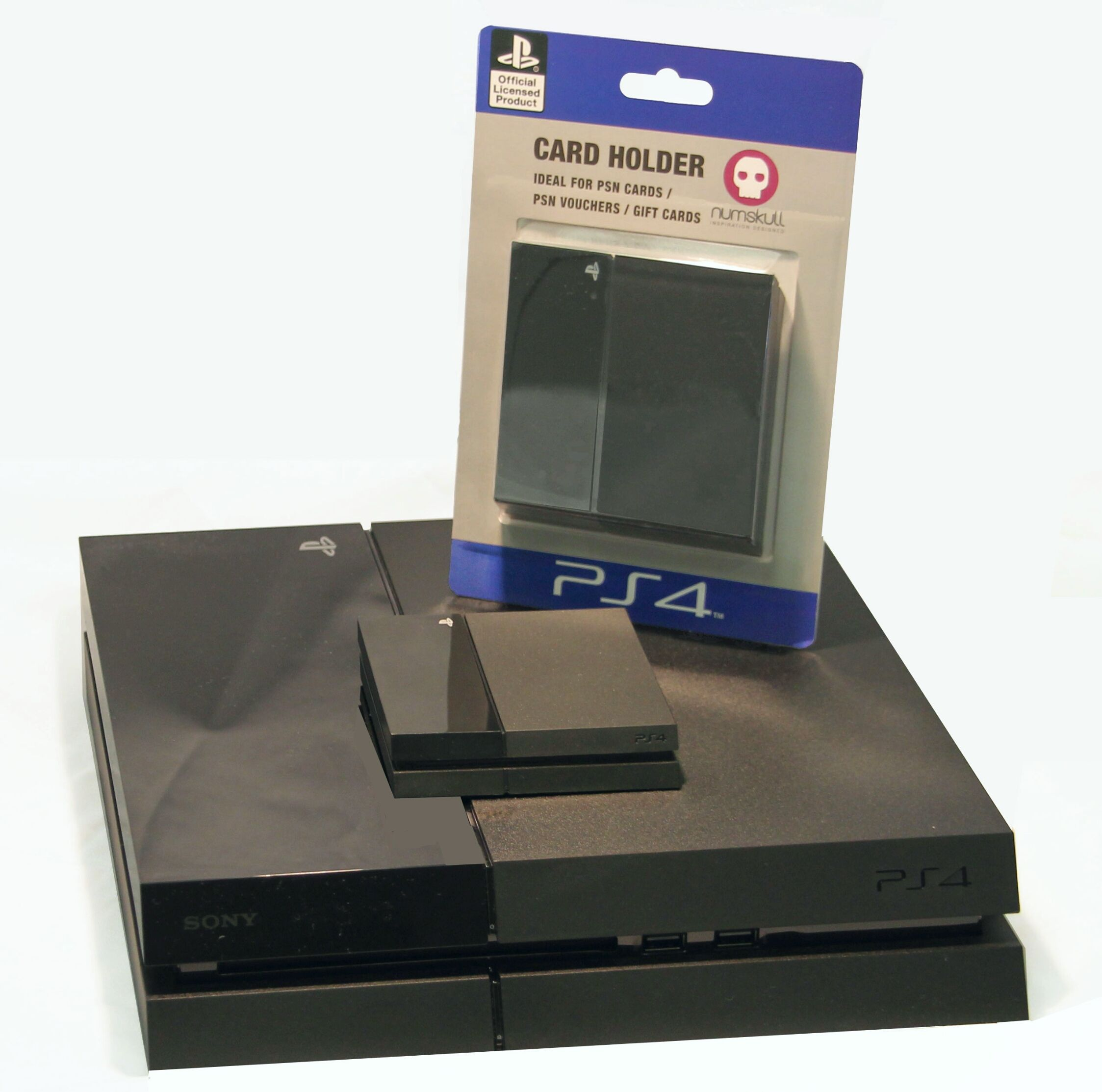 Get a cool #PS4 card holder from Numbskull Designs www.gamesyouloved ...