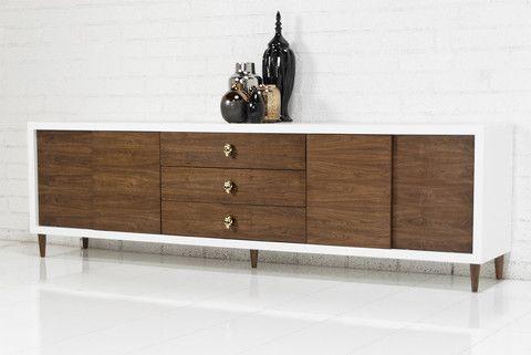 Brixton Walnut Credenza Walnut Credenza Walnut Furniture Sideboard Designs