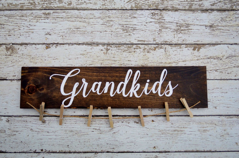 Grandkids Sign Picture Holder Grandkids Make Life Grand