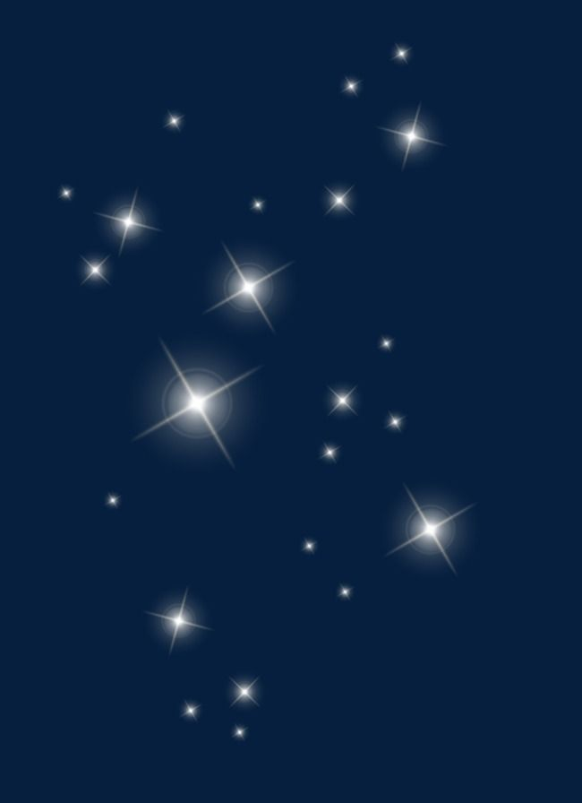 Estrellas flotantes, La Luz, Borrosa, Blanco Imagen PNG | recursos ...