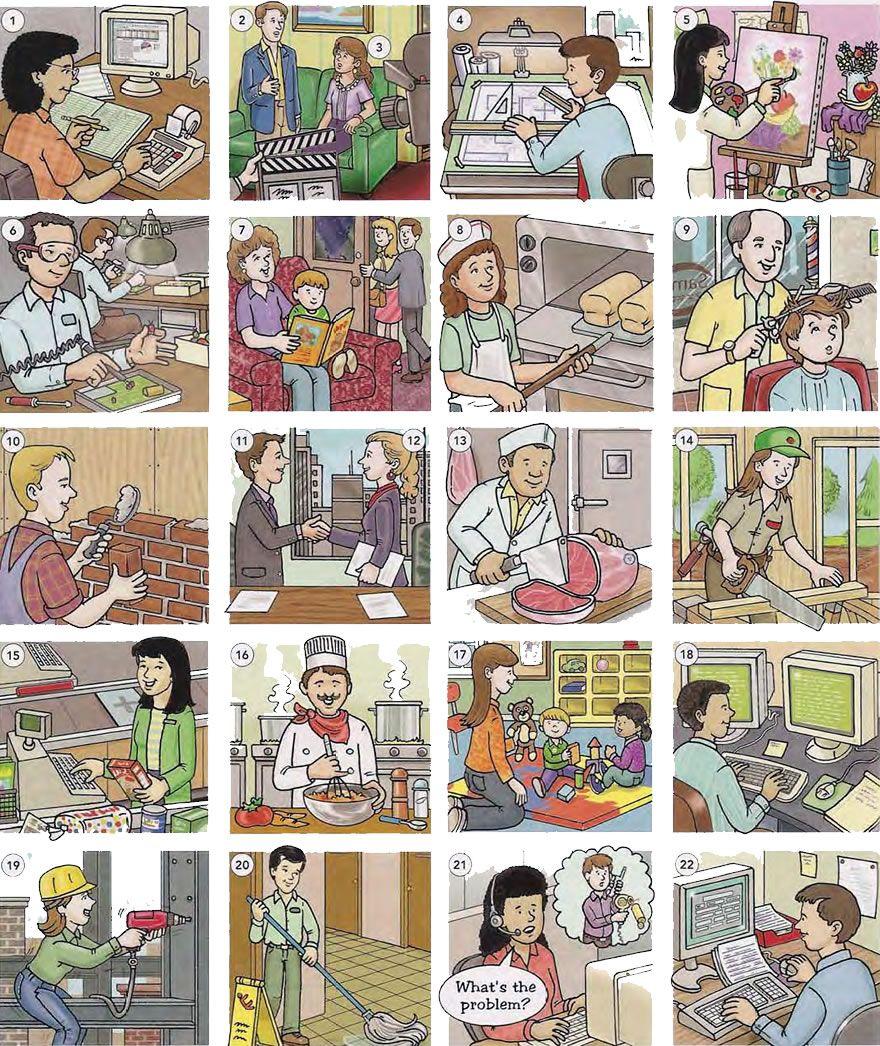 Jobs and professions list pdf
