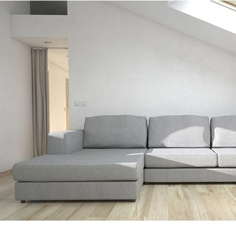 Monoqi 3 Sitzer Ecksofa Links Beige Sectional Couch Sofa Couch