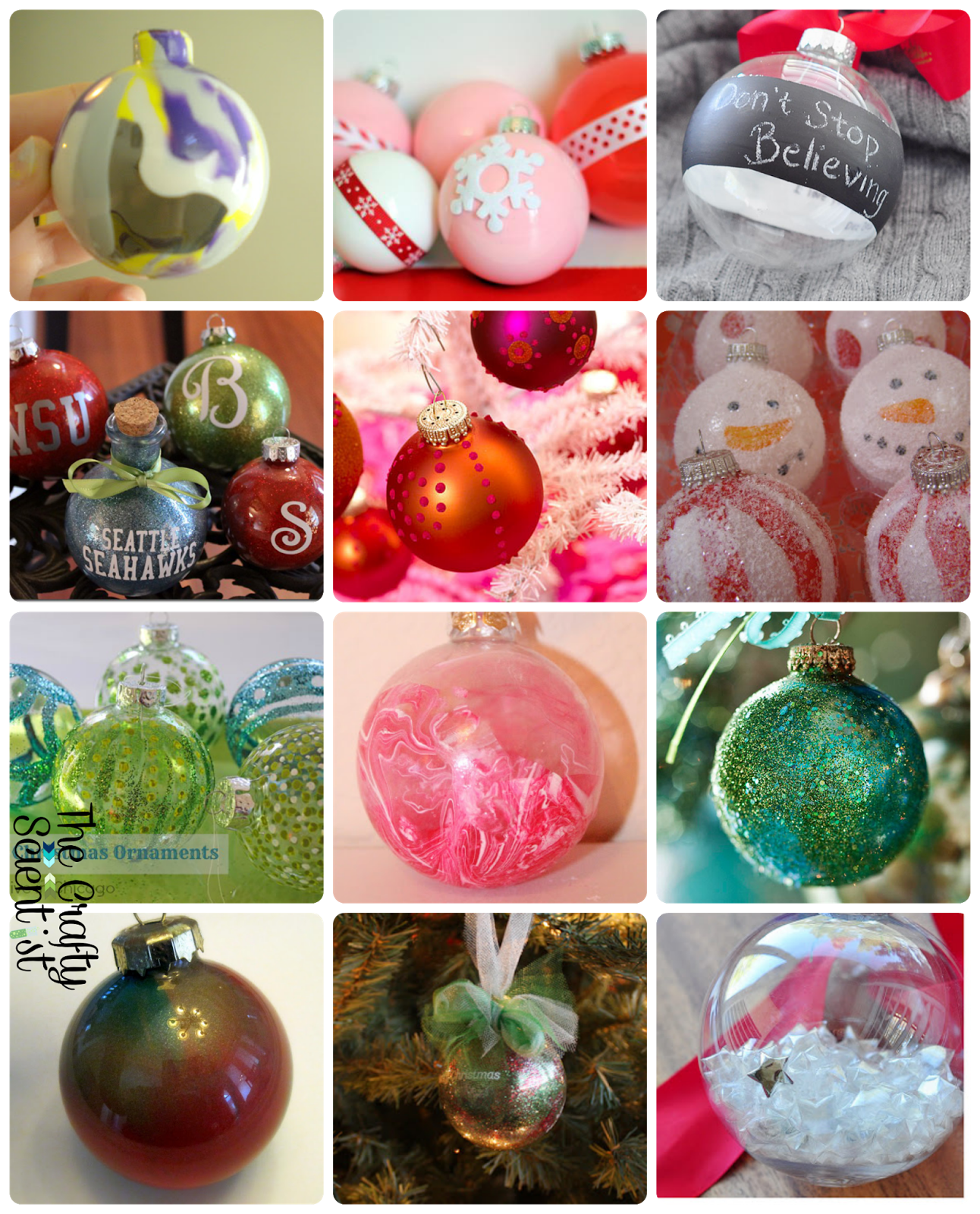The Crafty Scientist  500 Glass Ornaments Roundup