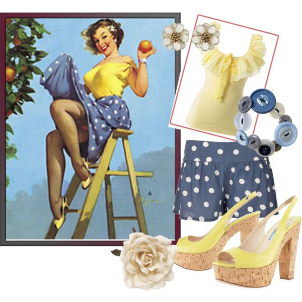 All For You - Pin-Up inspired outfit