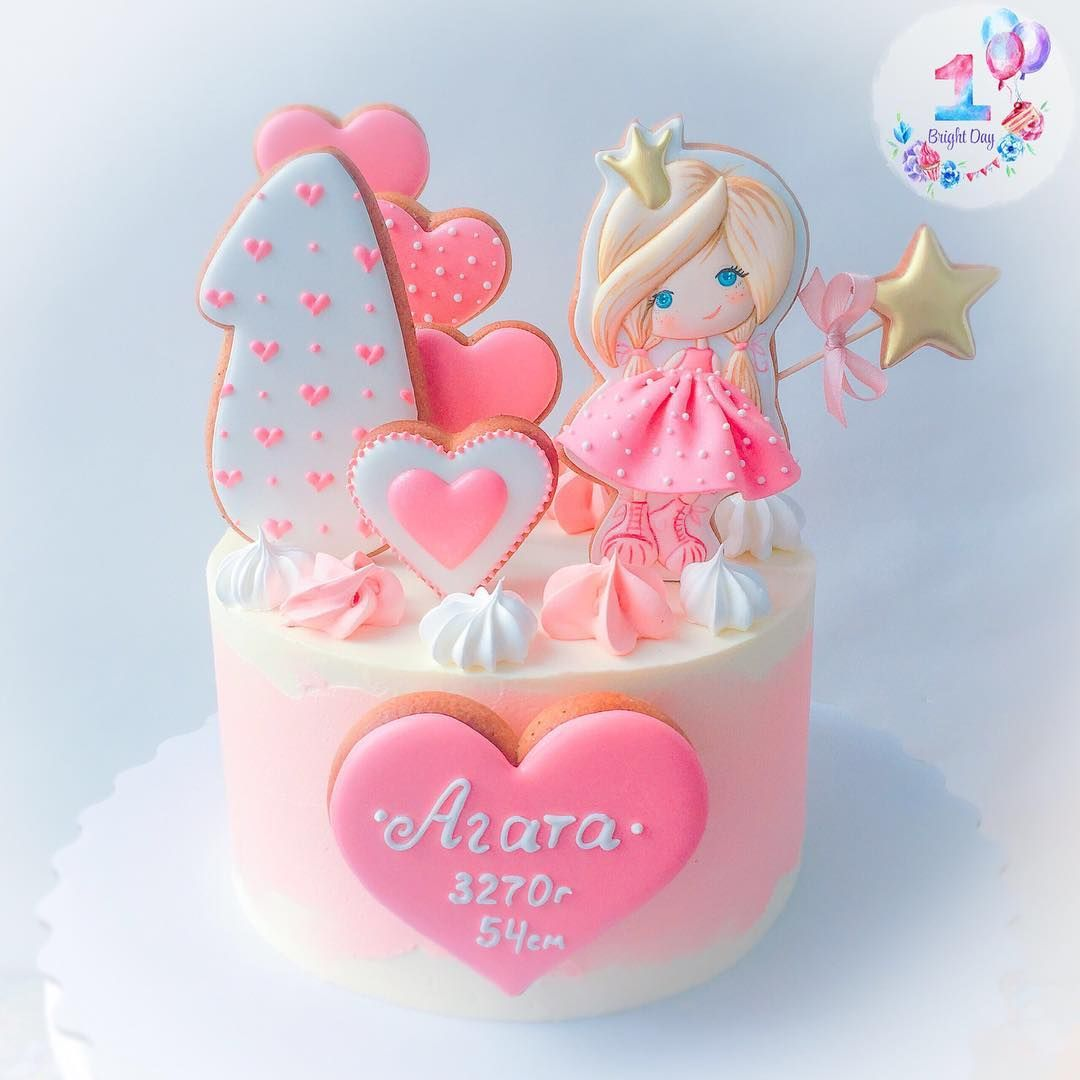 Нет описания фото. | Торт, Детский торт, Красивые торты