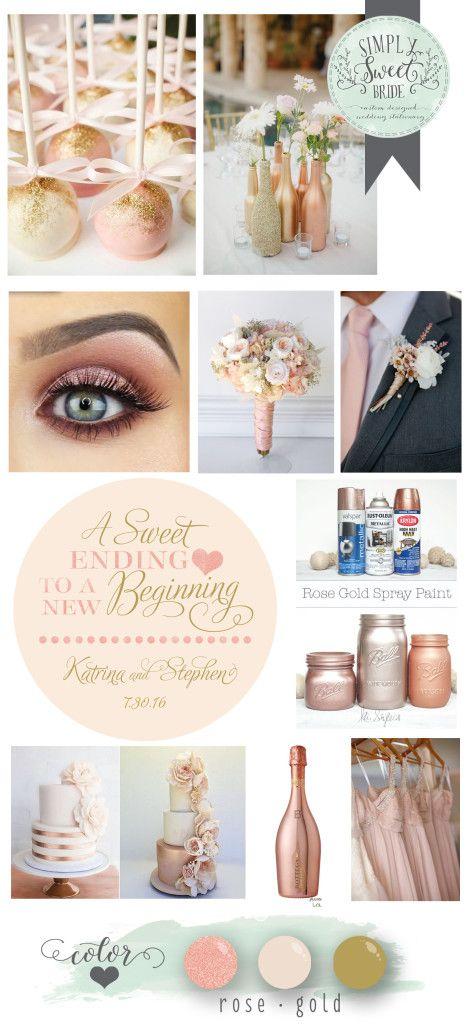 wedding-color-inspiration-board-rose-gold-champagne