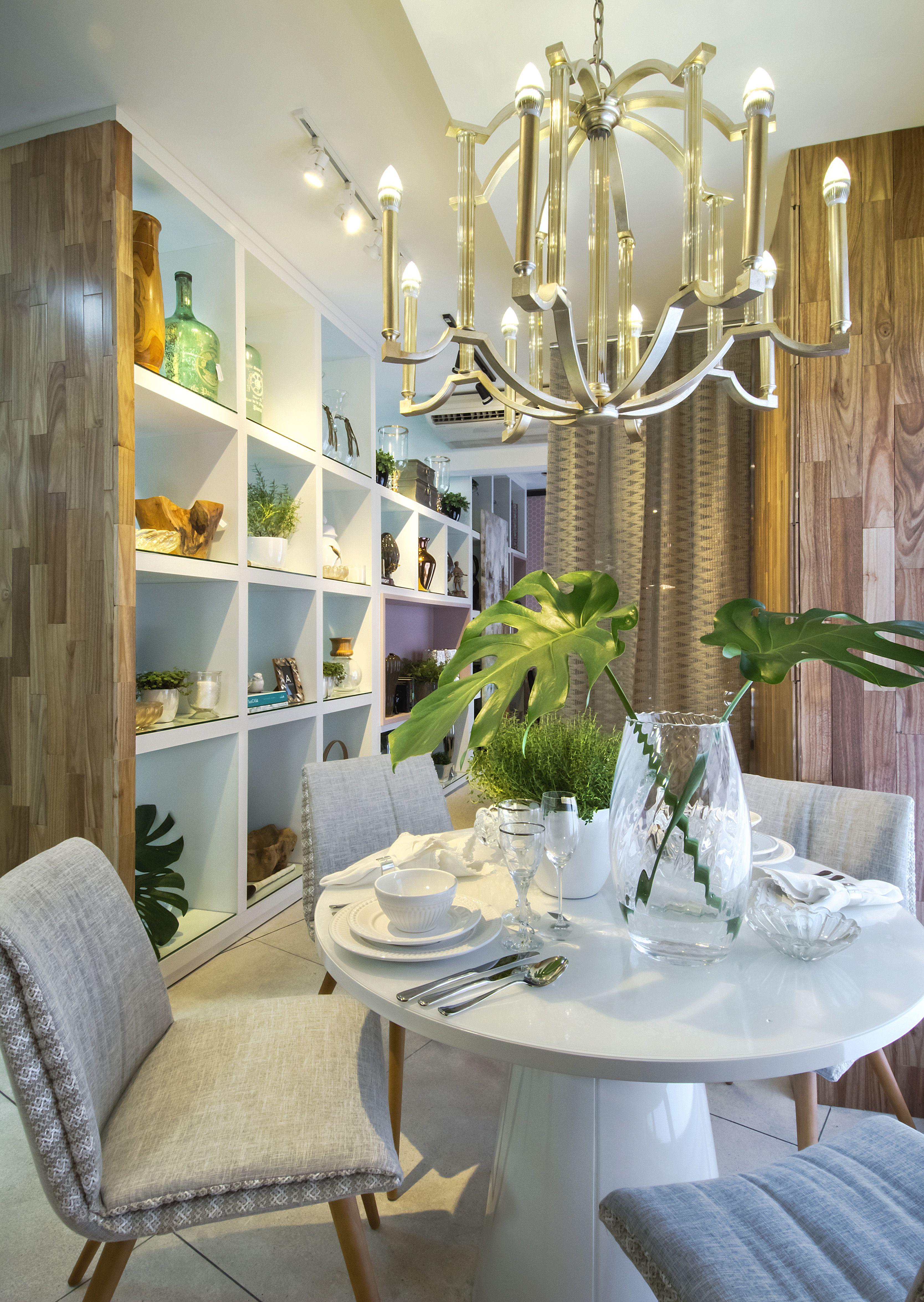 Projeto de Interiores para vitrine da loja Arte & Requinte 2016 - Brusque - Santa Catarina - Foto Cícero Viégas