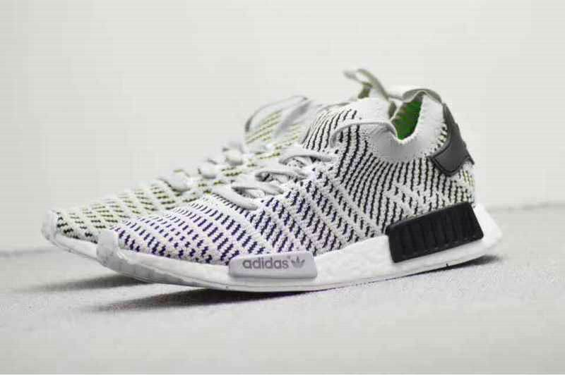 d5e9bfd69 2018 Real Men Adidas NMD R1 PK 2018 BSF Boost Lilac Grey Green Black Shoe