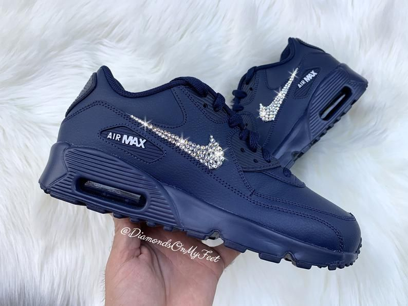 Nike Air Max 90 Midnight Navy Blue