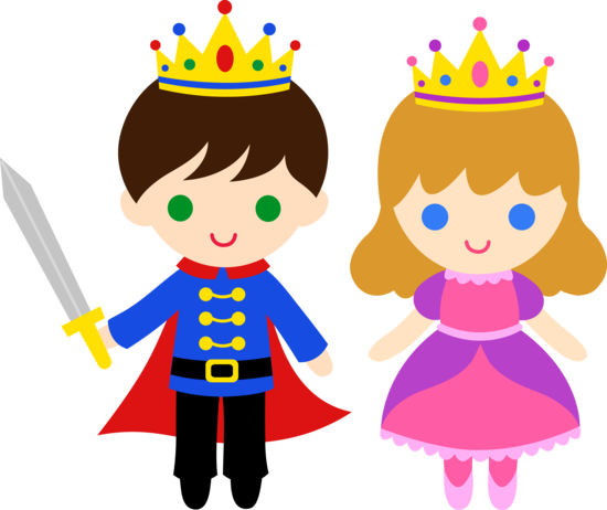 free clip art of a cute little prince and princess sweet clip art rh pinterest com princess clipart software princess clip art crown
