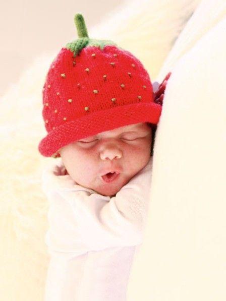 Süße Babymütze einfach selber stricken #strickanleitungbaby