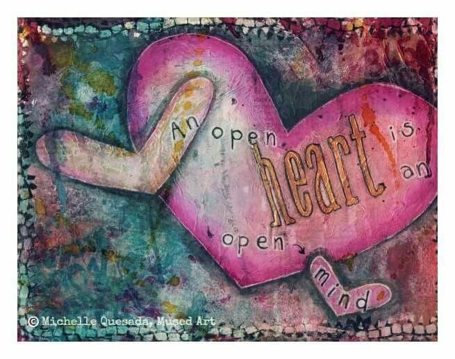 An open heart is an open mind