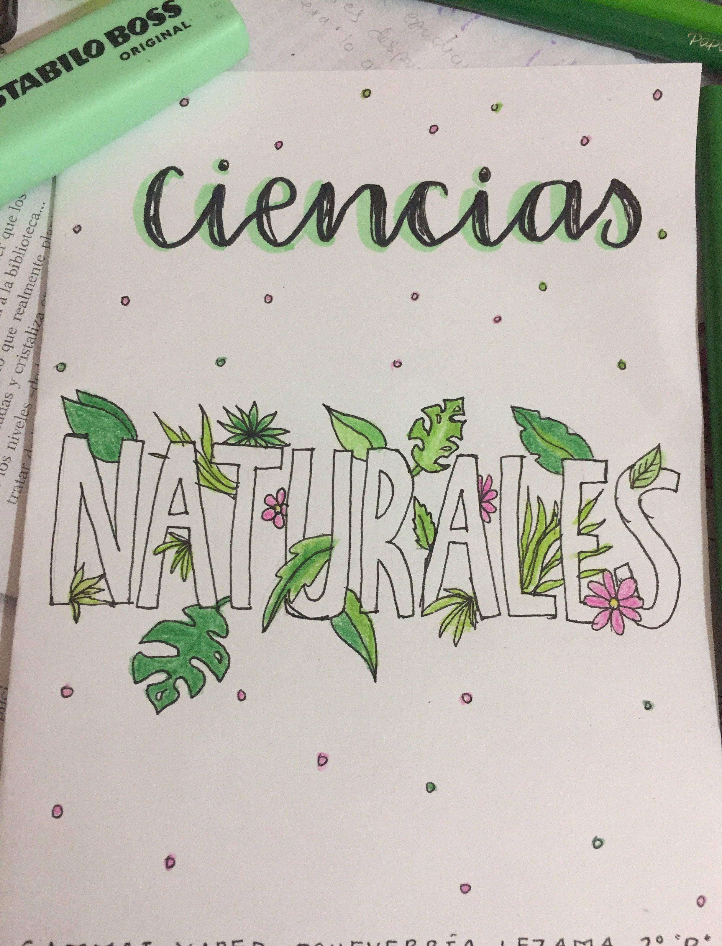 Portadas De Ciencias Biología Caratulas De Ciencias Caratulas De Ciencias Naturales Portada De Cuaderno De Ciencias