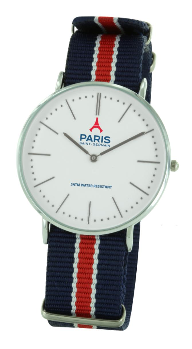 design de qualité c20f1 8a962 Our textile watch, parisian and classy | Création PSG ...